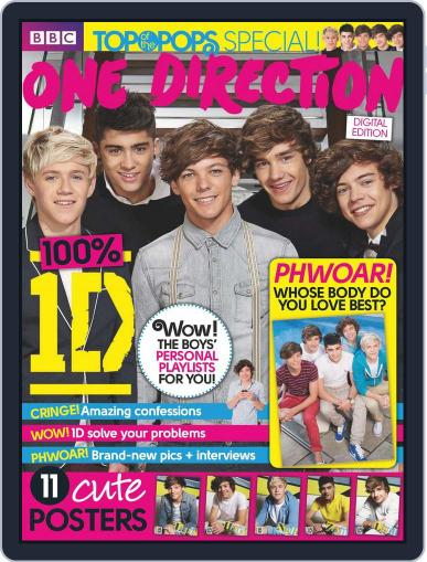 Top Of The Pops Special - One Direction March 1st, 2012 Digital Back Issue Cover