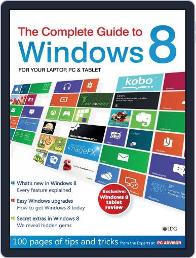 The Complete Guide to Windows 8 May 9th, 2012 Digital Back Issue Cover