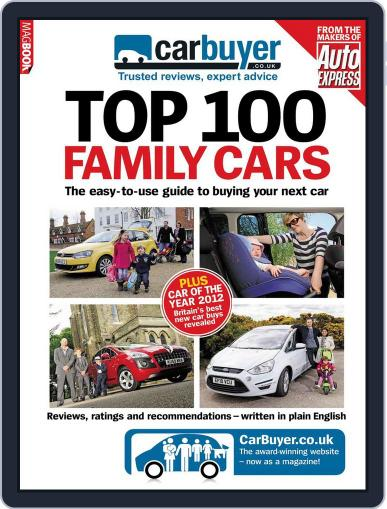 CarBuyer Top 100 Family Cars April 13th, 2012 Digital Back Issue Cover