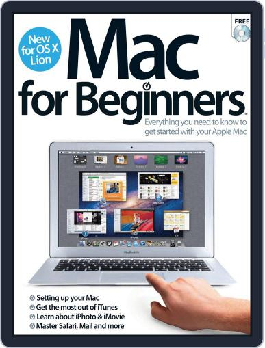 Mac for Beginners Revised Ed. April 23rd, 2012 Digital Back Issue Cover