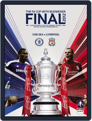 FA Cup Final 2012 Liverpool v Chelsea May 2nd, 2012 Digital Back Issue Cover