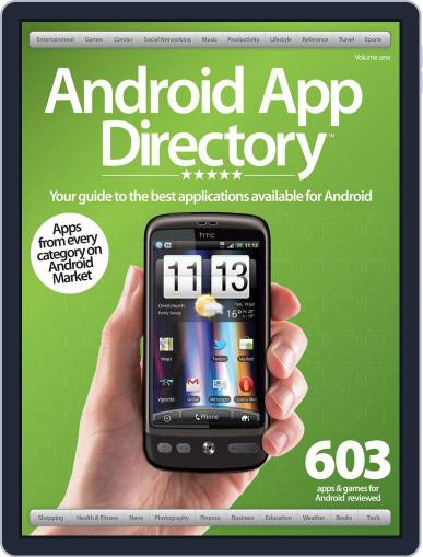 Android App Directory Vol 1 May 22nd, 2012 Digital Back Issue Cover