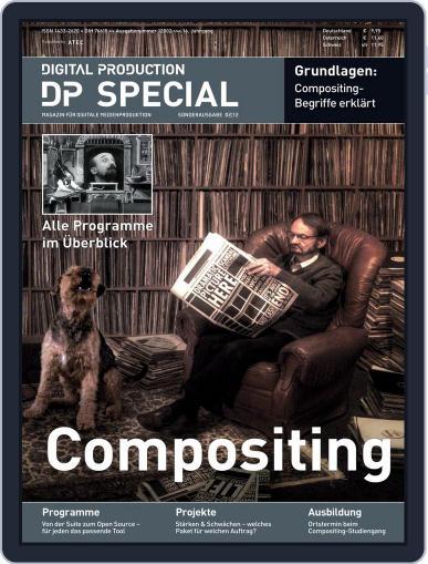 Digital Production Sonderheft Compositing June 7th, 2012 Digital Back Issue Cover
