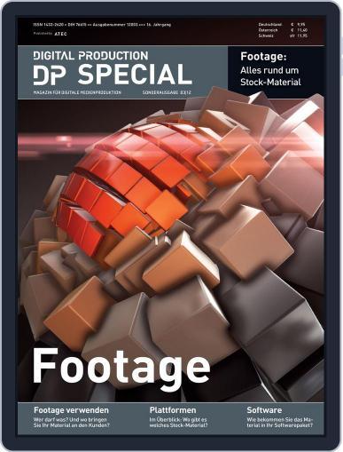 Digital Production Sonderheft Hardware September 26th, 2012 Digital Back Issue Cover