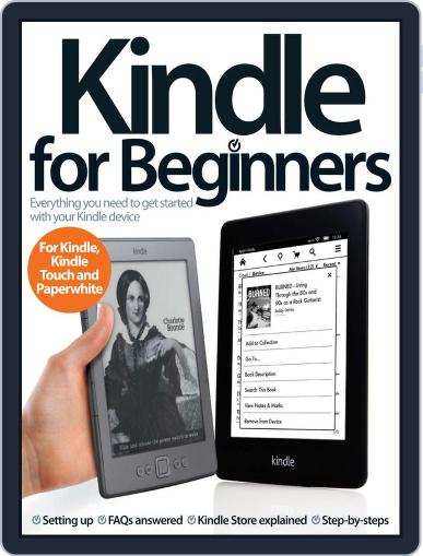 Kindle For Beginners June 20th, 2013 Digital Back Issue Cover