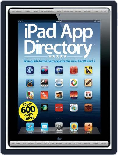 iPad App Directory Vol 4 May 25th, 2012 Digital Back Issue Cover