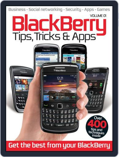 Blackberry Tips, Tricks & Apps Vol 1 July 3rd, 2012 Digital Back Issue Cover