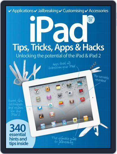 iPad Tips, Tricks, Apps & Hacks Vol 1 July 20th, 2012 Digital Back Issue Cover