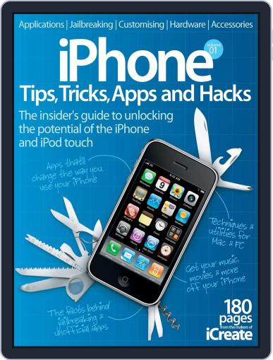 iPhone Tips, Tricks, Apps & Hacks Vol 1 July 4th, 2012 Digital Back Issue Cover