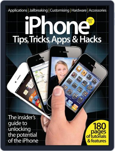 iPhone Tips, Tricks, Apps & Hacks Vol 3 July 4th, 2012 Digital Back Issue Cover