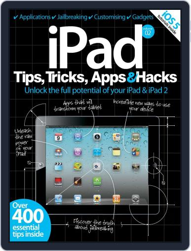 iPad Tips, Tricks, Apps & Hacks Vol 2 July 13th, 2012 Digital Back Issue Cover