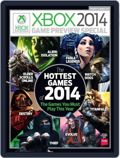 Official Xbox Magazine Special March 18th, 2014 Digital Back Issue Cover
