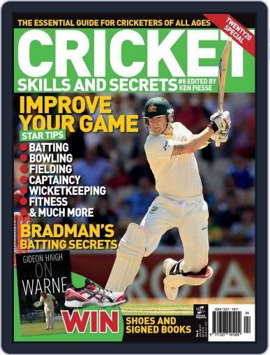 Cricket Skills and Secrets October 8th, 2012 Digital Back Issue Cover