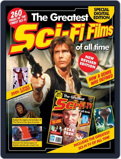 The Greatest Sci-Fi Films_TV of All Time Revised Edition October 4th, 2012 Digital Back Issue Cover