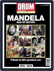 Drum - Nelson Mandela  – Man of History Magazine (Digital) Subscription December 11th, 2013 Issue
