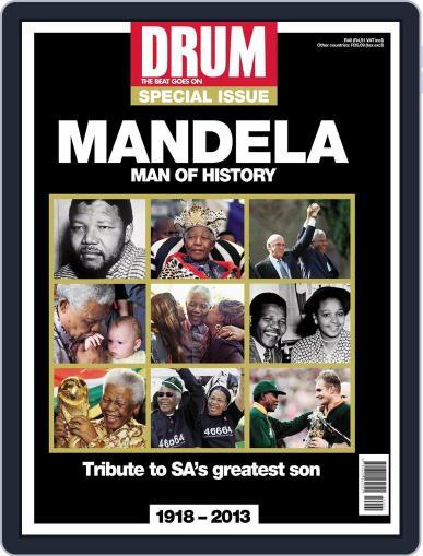 Drum - Nelson Mandela – Man of History December 11th, 2013 Digital Back Issue Cover