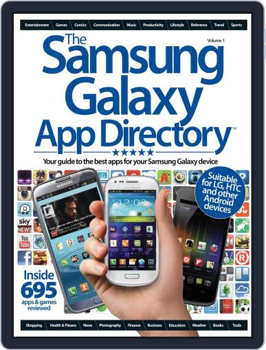 The Samsung Galaxy App Directory January 1st, 2013 Digital Back Issue Cover
