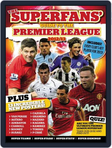 Superfan's Guide to the Premier League 2012-13 February 1st, 2013 Digital Back Issue Cover