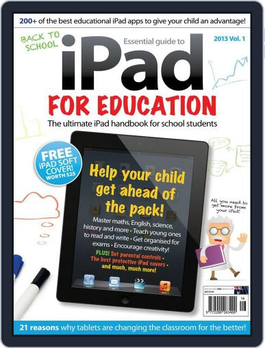 iPad for Education March 6th, 2013 Digital Back Issue Cover
