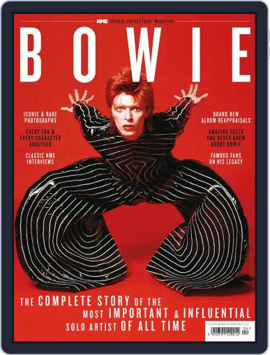 David Bowie April 18th, 2013 Digital Back Issue Cover