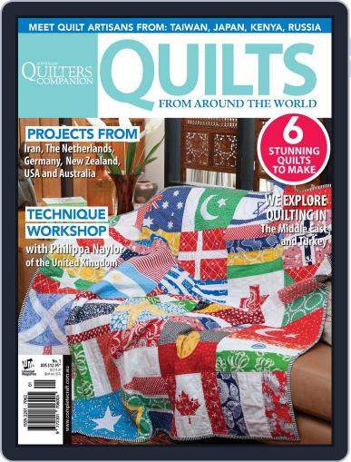 Quilts From Around The World May 8th, 2013 Digital Back Issue Cover