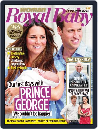 Woman Royal Baby Souvenir issue July 31st, 2013 Digital Back Issue Cover