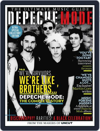 Depeche Mode - The Ultimate Music Guide August 7th, 2013 Digital Back Issue Cover