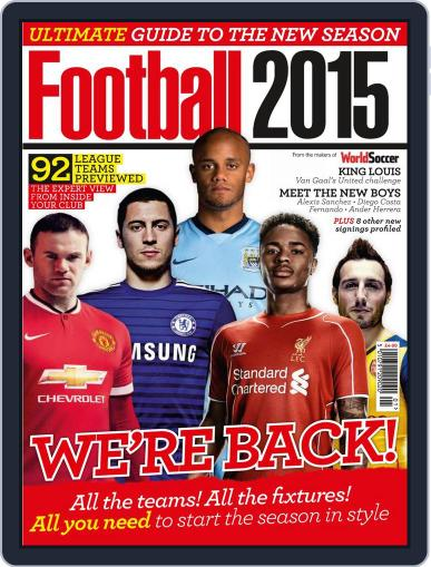 Football 2015 September 5th, 2014 Digital Back Issue Cover