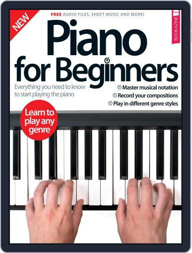 Piano For Beginners March 1st, 2017 Digital Back Issue Cover
