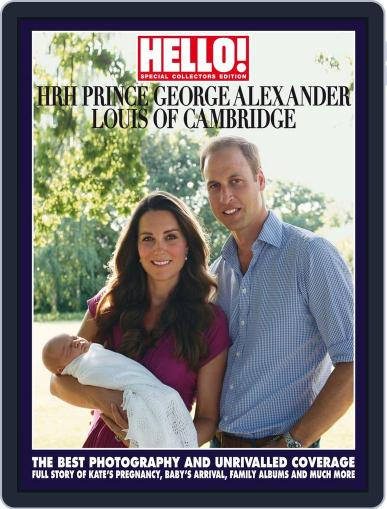 HELLO! Prince George Souvenir Edition August 26th, 2013 Digital Back Issue Cover
