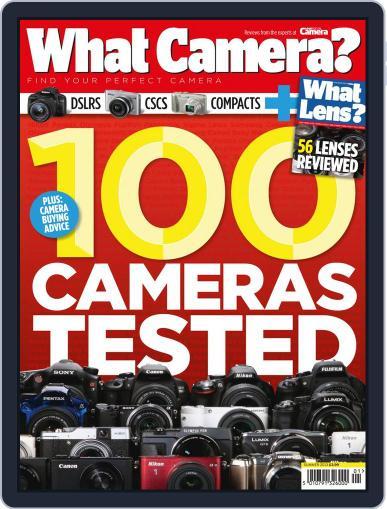 What Camera & Lens September 27th, 2013 Digital Back Issue Cover