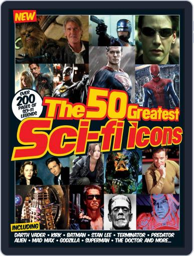 The 50 Greatest SciFi Icons December 2nd, 2015 Digital Back Issue Cover