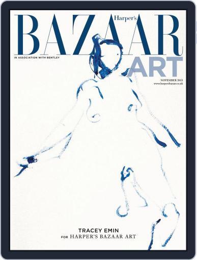 Harper's Bazaar Art October 29th, 2013 Digital Back Issue Cover