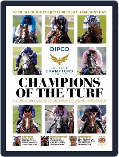 Champions Of The Turf October 16th, 2013 Digital Back Issue Cover