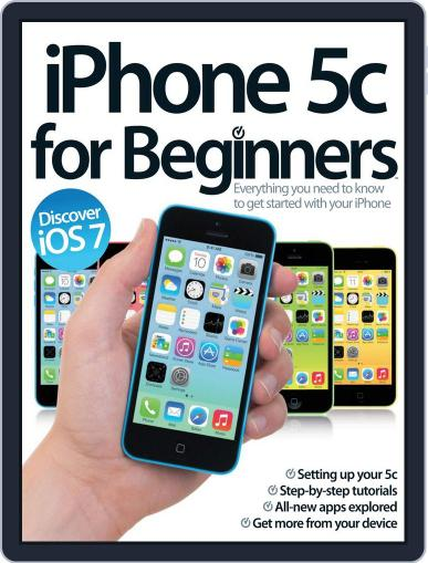 iPhone 5c For Beginners December 20th, 2013 Digital Back Issue Cover