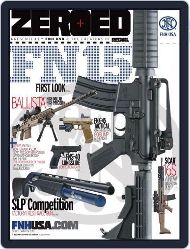 Zeroed December 31st, 2013 Digital Back Issue Cover