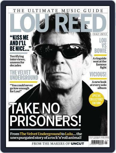 Lou Reed - The Ultimate Music Guide February 12th, 2014 Digital Back Issue Cover