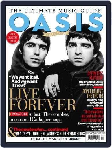 Oasis - The Ultimate Music Guide March 19th, 2014 Digital Back Issue Cover