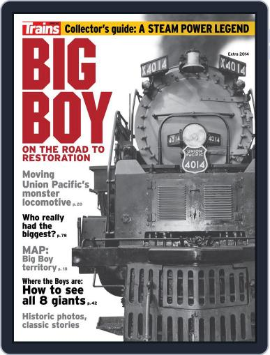 Big Boy: On the Road to Restoration April 11th, 2014 Digital Back Issue Cover