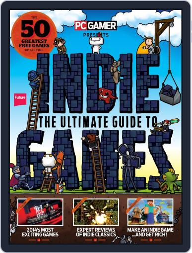 The Ultimate Guide to Indie Games April 2nd, 2014 Digital Back Issue Cover