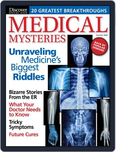 Medical Mysteries April 27th, 2018 Digital Back Issue Cover