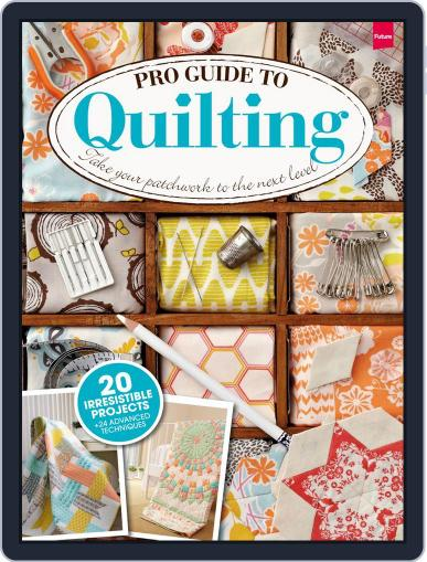 Pro Guide to Quilting April 28th, 2014 Digital Back Issue Cover