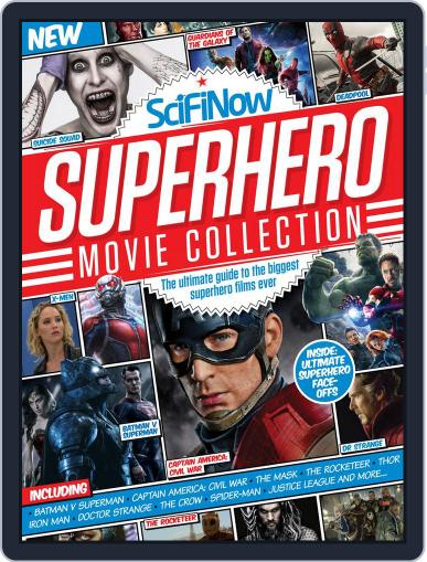 SciFiNow Superhero Movie Collection May 3rd, 2016 Digital Back Issue Cover
