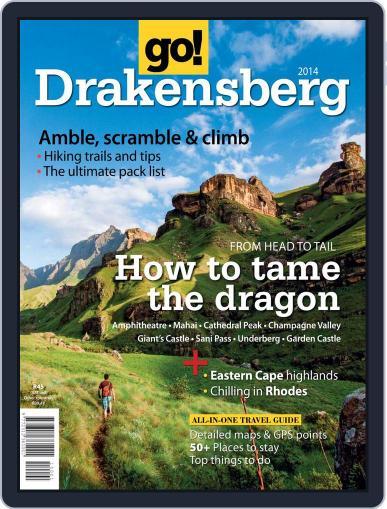 Go! Drakensberg June 26th, 2014 Digital Back Issue Cover