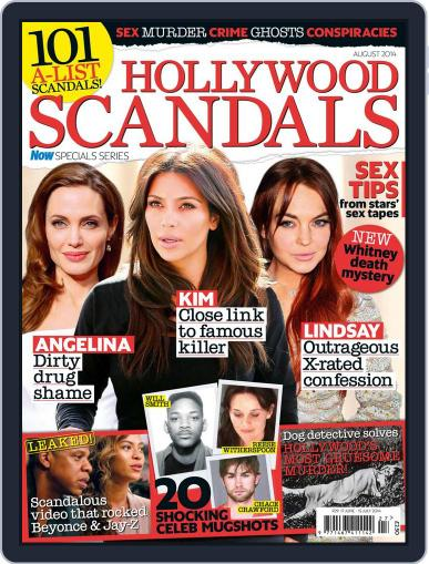 Hollywood Scandals July 23rd, 2014 Digital Back Issue Cover