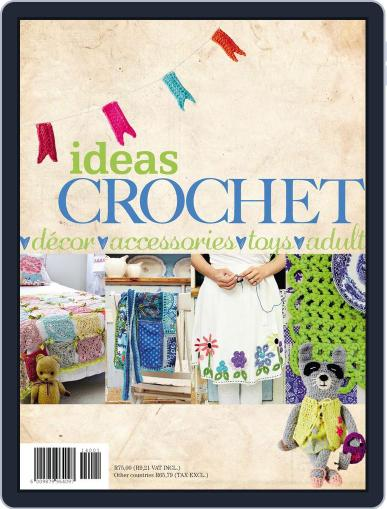 Ideas Crochet August 4th, 2014 Digital Back Issue Cover