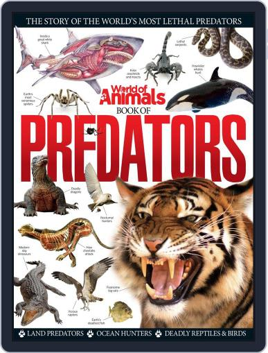 World of Animals Book of Predators August 20th, 2014 Digital Back Issue Cover