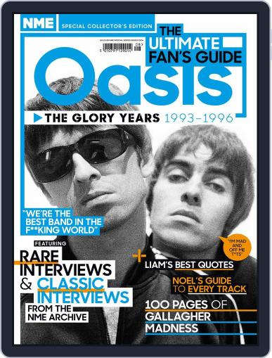 NME Special Collectors´ Magazine - Oasis September 5th, 2014 Digital Back Issue Cover
