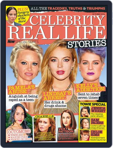 Celebrity Real Life Stories September 9th, 2014 Digital Back Issue Cover