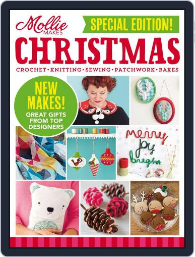 Mollie Makes Christmas September 10th, 2014 Digital Back Issue Cover